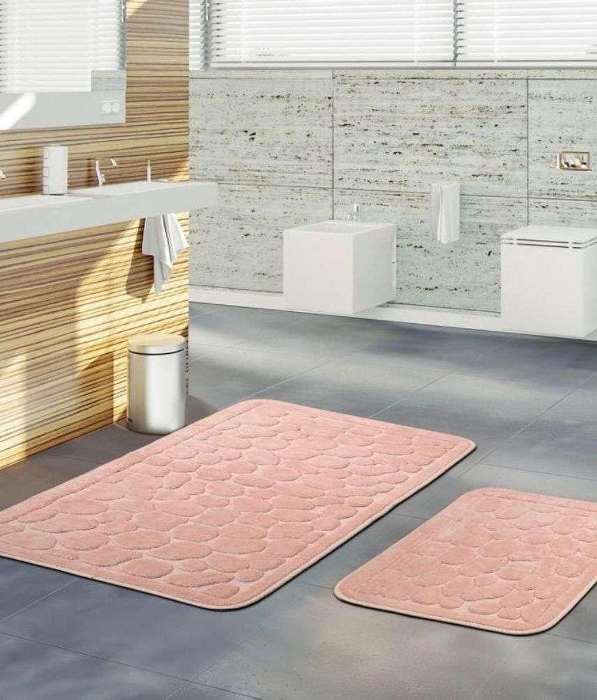 זוג שטיחי אמבטיה יוקרתיים דגם דנטי 01
