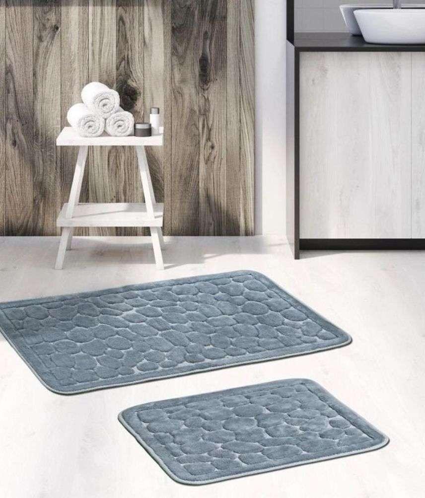 זוג שטיחי אמבטיה יוקרתיים דגם דנטי 02