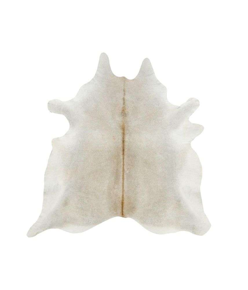 שטיח עור פרה טבעי בהיר